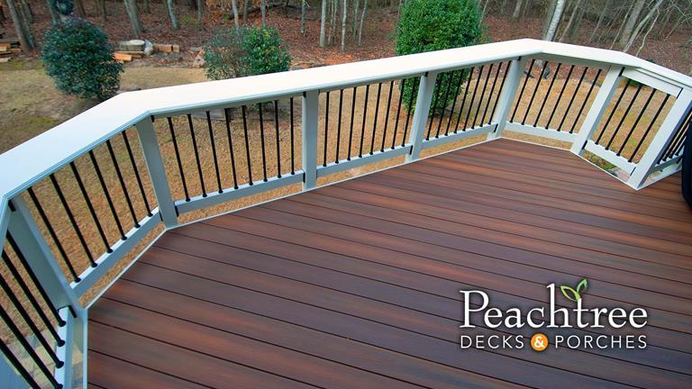 Atlanta decks, porches and outdoor living spaces | Peachtree